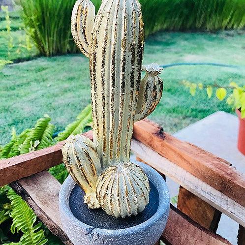 Adorno de Cactus 12.5X12.5X25CM