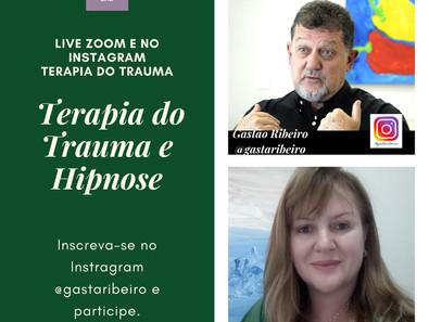 Convite para live com Gastão Ribeiro