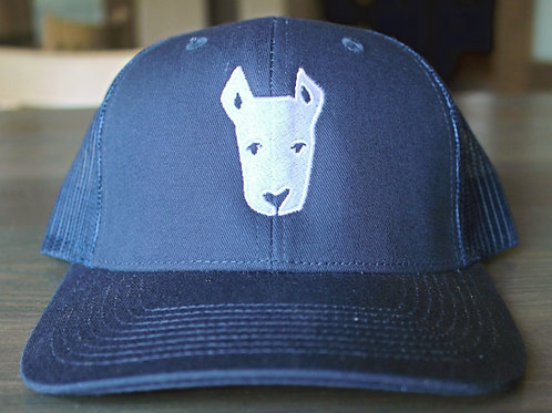 Navy Dray Bar and Grill Trucker Hat