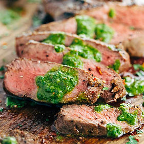 grilled-flat-iron-steak-sliced-with-chim