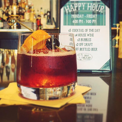 Check out today's Happy Hour Cocktail of