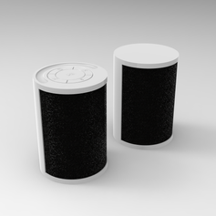 Stackable Stereo Speakers