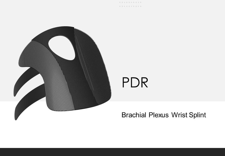 3D Pintable Wire-Mesh Wrist Splint