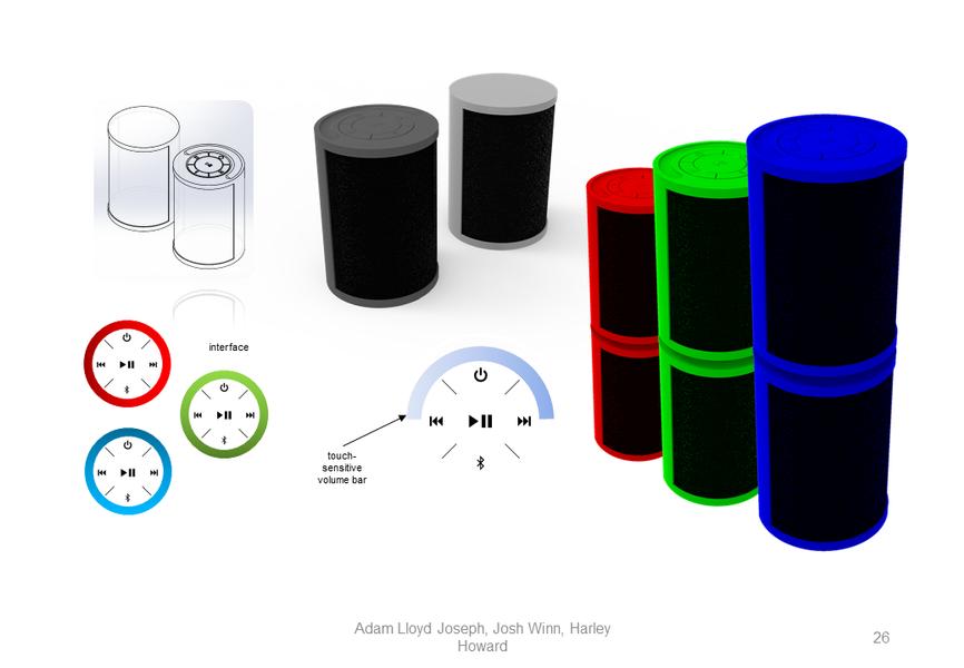 Stackable Speakers Concept