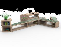 Community hub. Layout