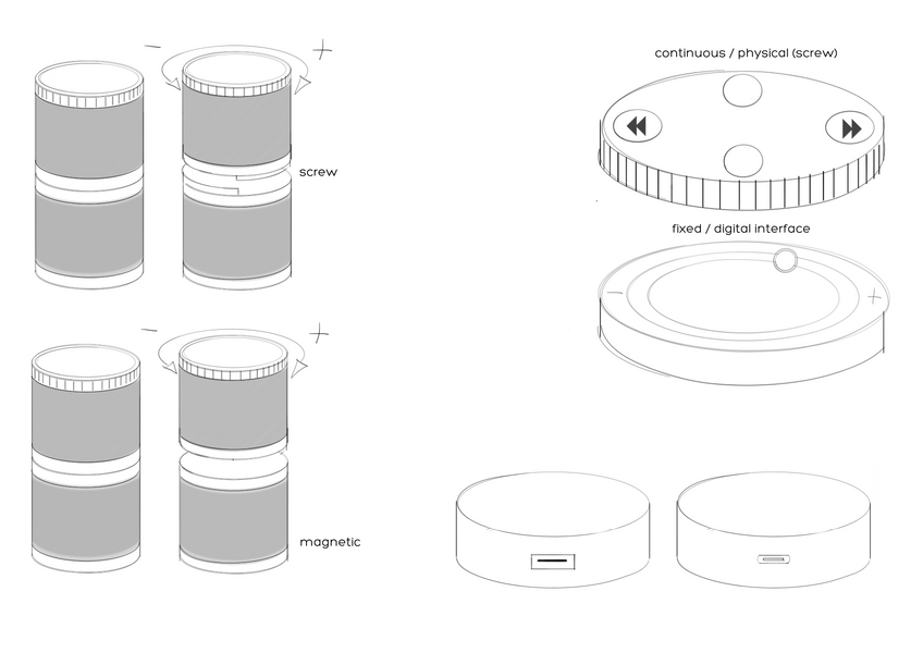 Stackable Speakers Ideation