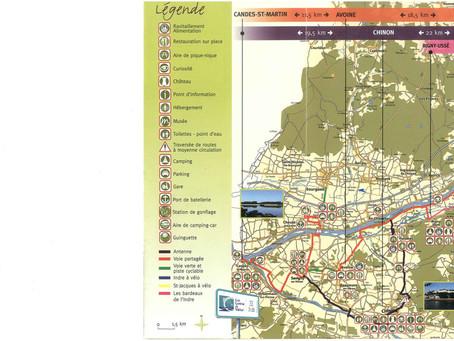 Loire à vélo # Ouest Touraine >> Chinon