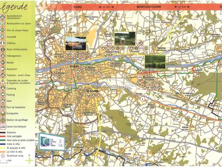 Loire à vélo # à l'Est de Tours >> Chenonceaux