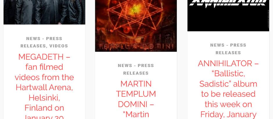 MARTIN TEMPLUM DOMINI ON THE MEDIA & PRESS