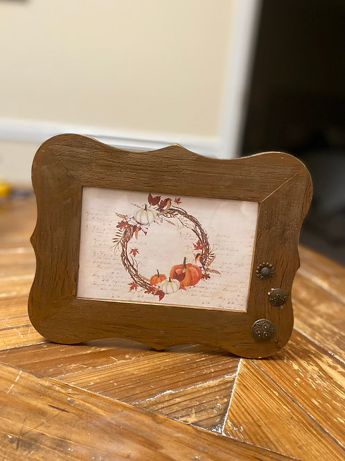 3x5 Autumn Decorative Frame