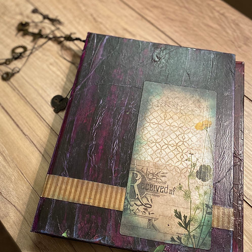 Purple Junk Journal