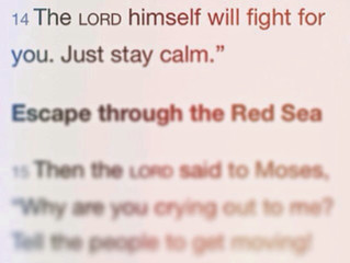 When God Fights for Us