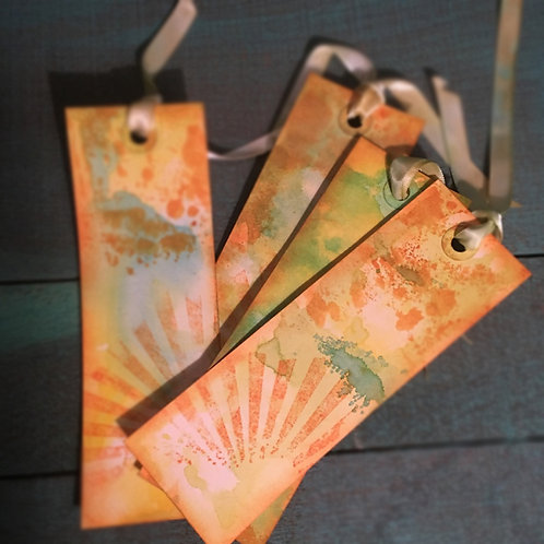 Sunburst Bookmark