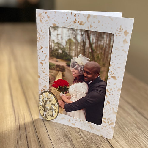 Lovebirds Photo Frame