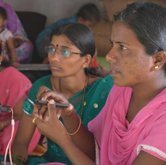 Training of grassroots workers in digital skilling innovations
