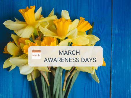 Awareness Days for March 2021
