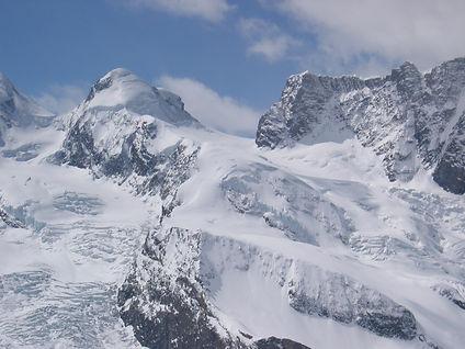 Breithorn Mountain Switzerland from Zermatt