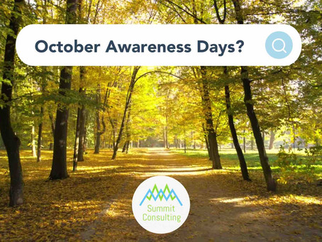 Awareness Days October 2021