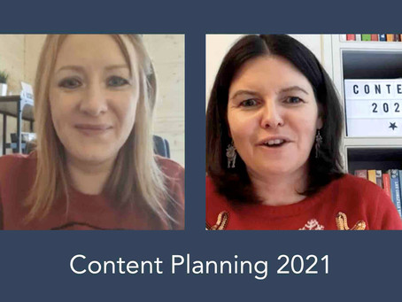Content Planning Tips for 2021