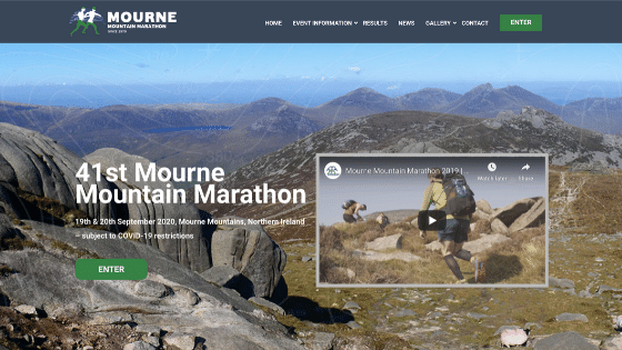 Mourne Mountain Marathon Home Page