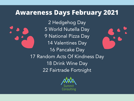 Awareness Days for February 2021