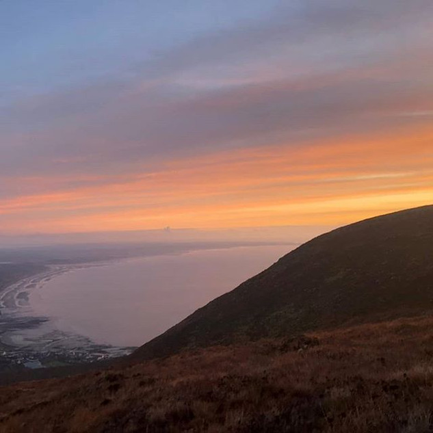 Sunrise on Donard