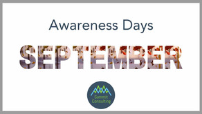 Awareness Days September 2021