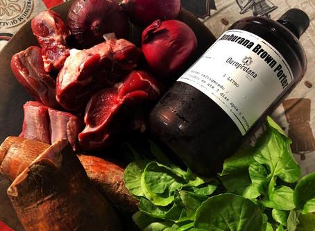 Cerveja na cozinha: Vaca atolada com Ouropretana Amburana Brown Porter