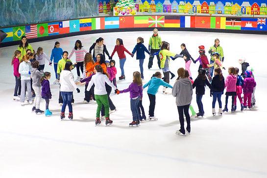 patinatge sobre gel per nens