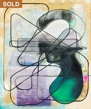 Untitled, 2019 (Racetraxx series one lin