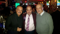 With Mike Acosta and El Cartero