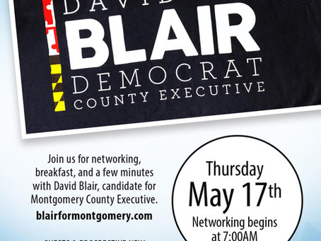 Network Bethesda Guest Speaker: David Blair