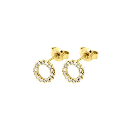 Orecchini in oro e diamanti