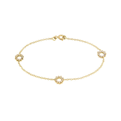 Braccialetto in oro e diamanti