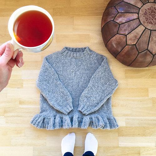 Ingrid-genseren strikkeoppskrift
