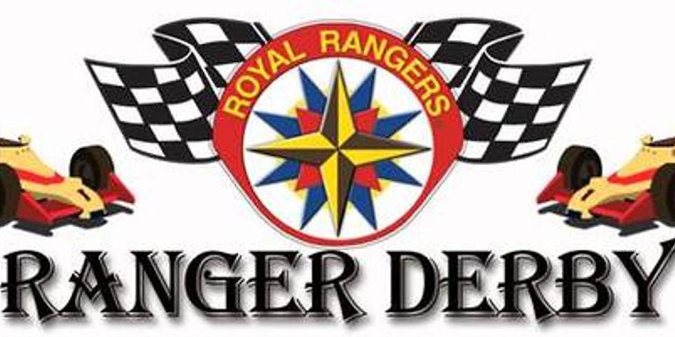 Annual Royal Rangers Pinewood Derby