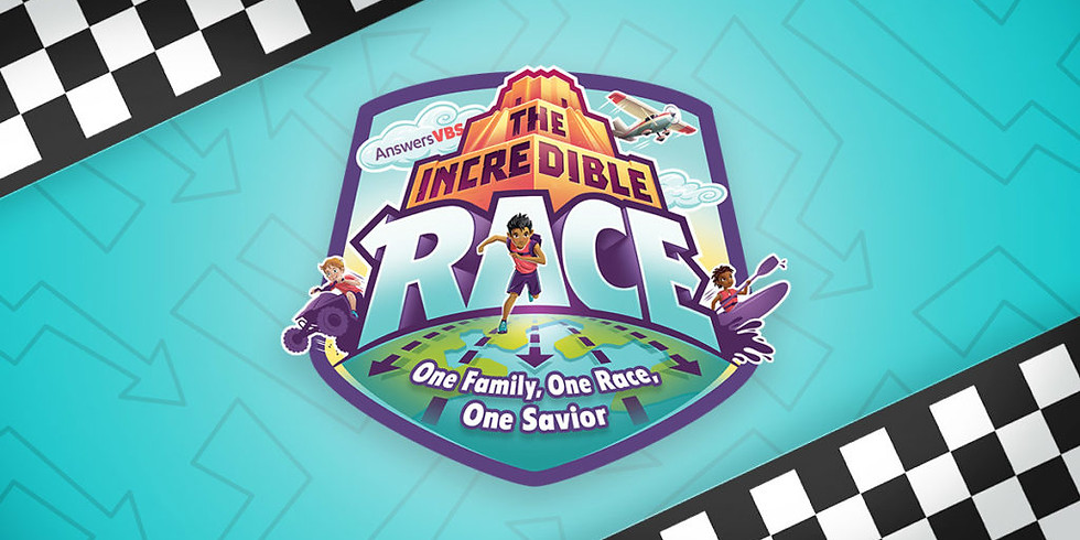 The Incredible Race   Vacation Bible School