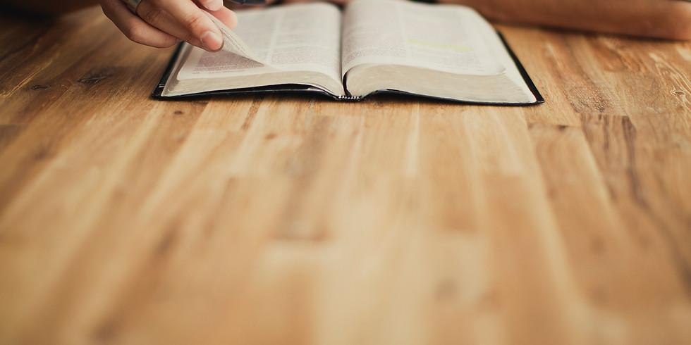 Bible Study w/ Pastor Bill Roberts