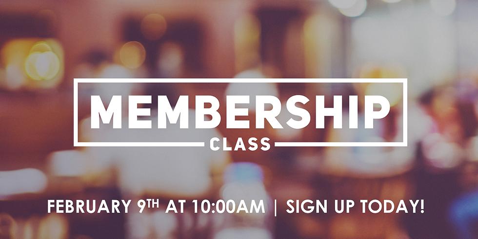 Christ Chapel Membership Class