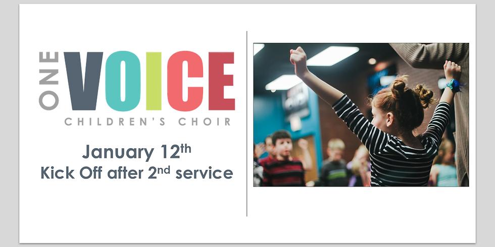 Kids Choir New Season Kick Off!