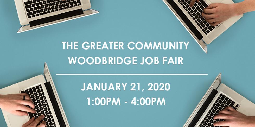 The Greater Community Woodbridge Job Fair!