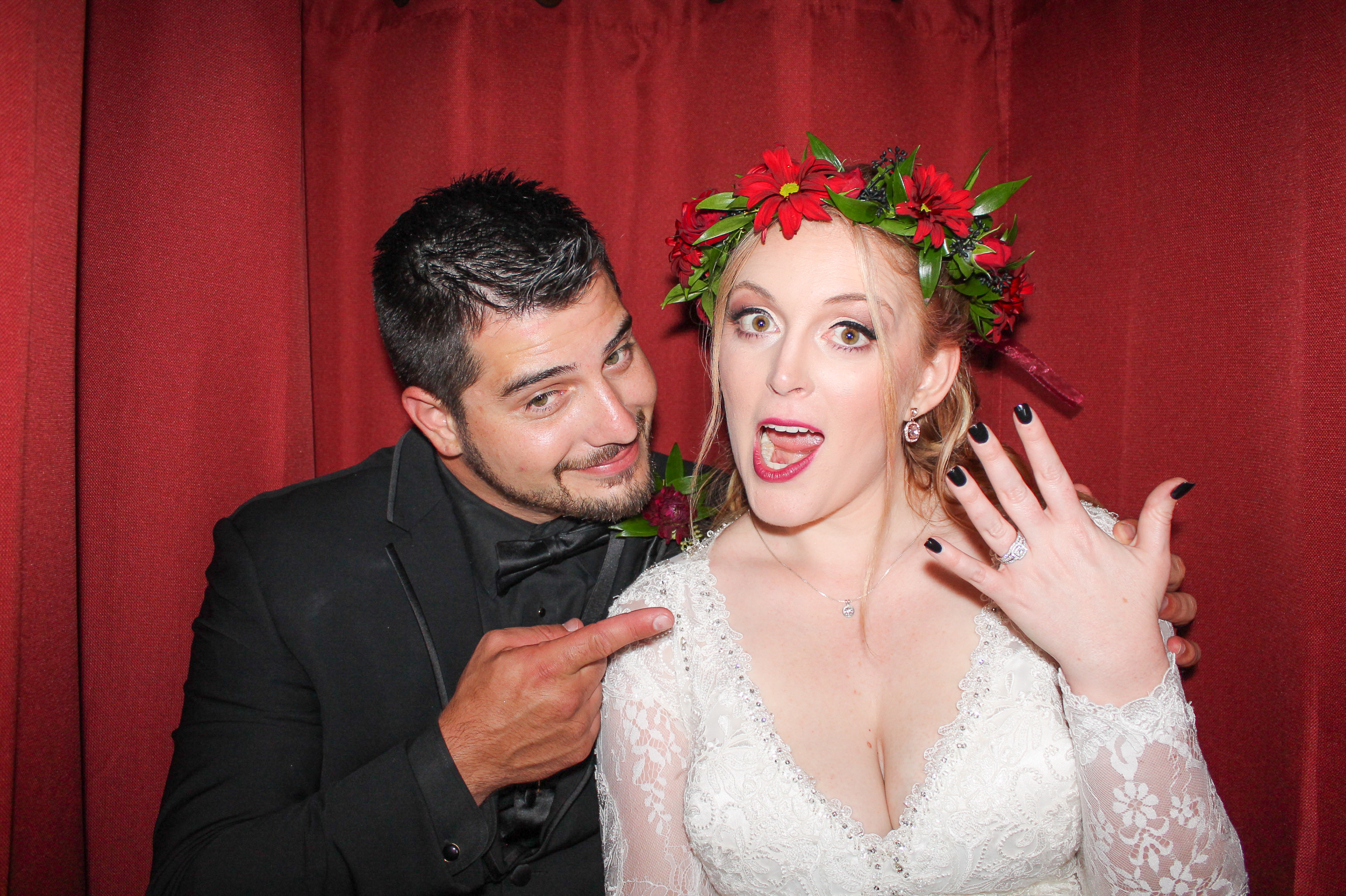 Anna and Brandon's Wedding Photo Booth