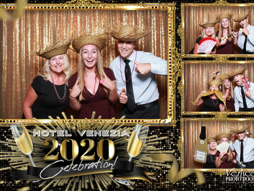 NYE Photo Booth Celebration at the Hotel Venezia, Venice, FL