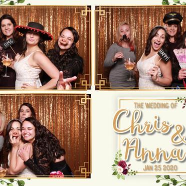 Chris and Anna's Wedding Photo Booth, Carmelo's Restaurant, Punta Gorda, FL