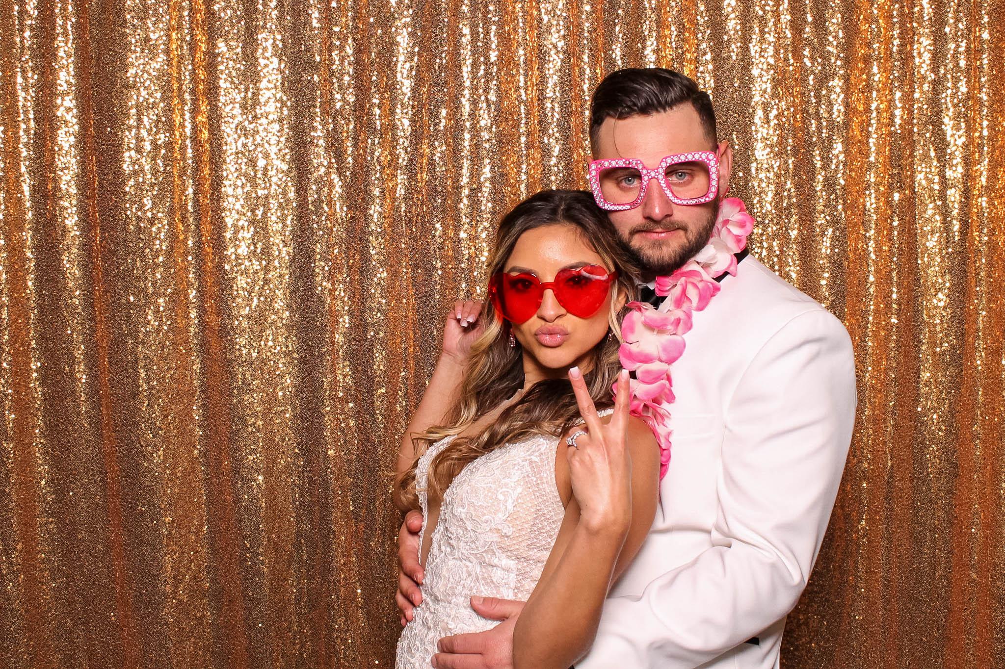 Evita and Chris's Wedding Photo Booth