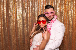 Evita and Chris's Wedding Photo Booth