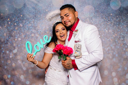 Alexis and Lizeth's Wedding Photo Booth