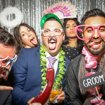 Wein and Rashmi's Wedding Photo Booth, Edson Keith Mansion, Phillippi Park, Sarasota, FL