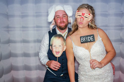 Brittany & Brad's Wedding Photo Booth