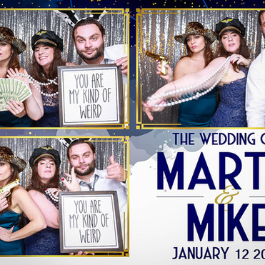 Mike and Marta's Wedding Photo Booth - Charlotte Harbor Yacht Club, Port Charlotte, FL